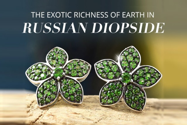 Russian Diopside Jewellery on TJC
