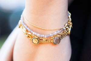 Paired bracelets jewellery styling tips