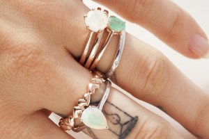 Stacking rings jewellery styling tips