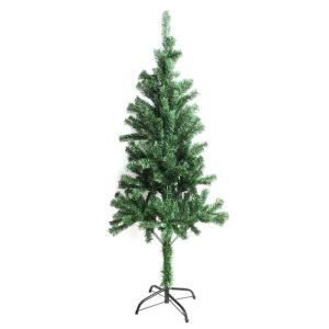 5 ft Tall Christmas Tree with Iron Base