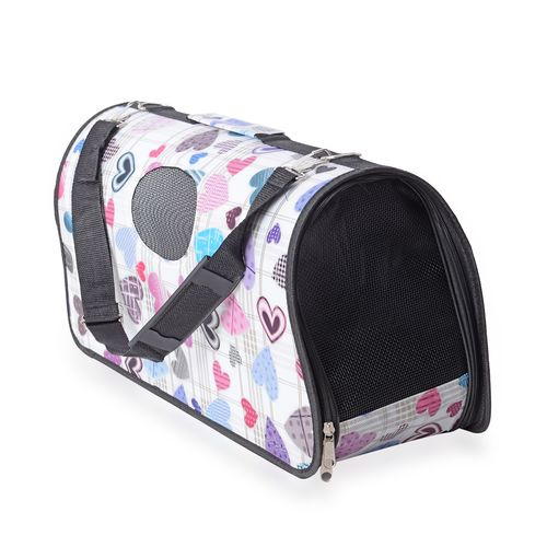 Foldable Pet Carrier with Zipper