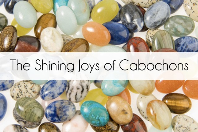 Cabochon jewellery at TJC