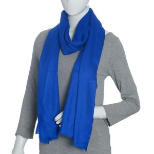 Cashmere Wool Shawl with Fringes