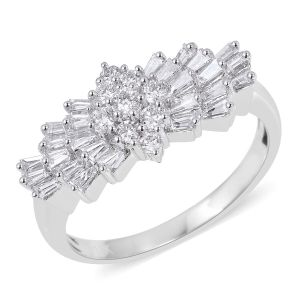 Rhapsody Diamond 950 Platinum Ring 1.010 Ct.