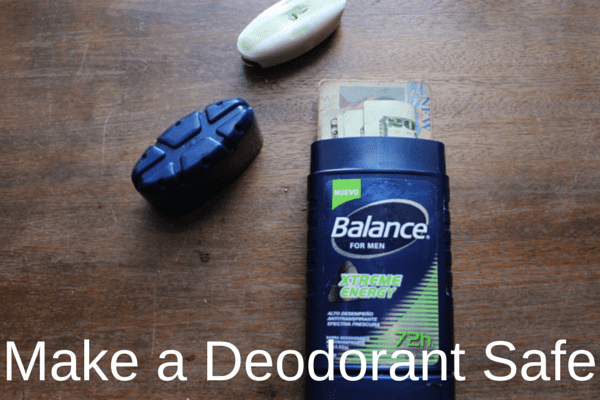 Travel hack deodorant safe