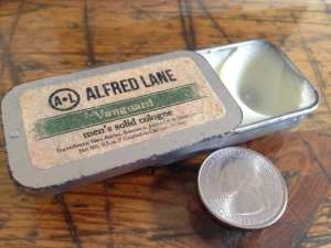 Alfred Lane solid cologne