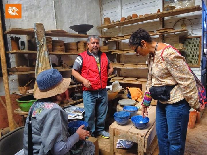 Master Ceramicist in Tzintzuntzan