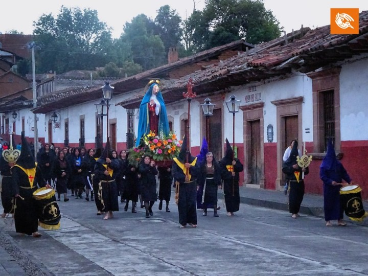 Procession of Silence in Patzcuaro