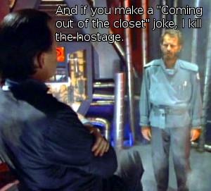 Captain Power Episode 16 Bruce Gray in Volcania