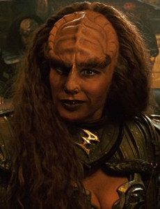 Gwynyth Walsh as B'Etor of the house of Duras