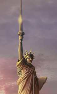War of the Worlds: Goliath - Statue of Liberty