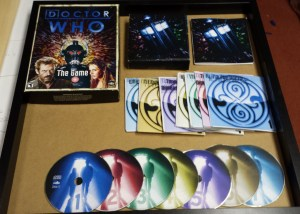 Doctor Who FMV Game Box Contents
