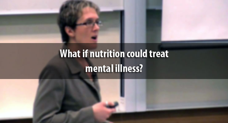 What if nutrition could treat mental illness?