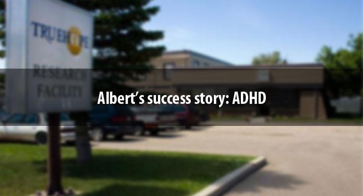 Albert's success story: ADHD