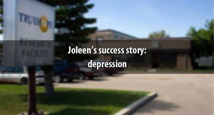 Joleen's success story: depression