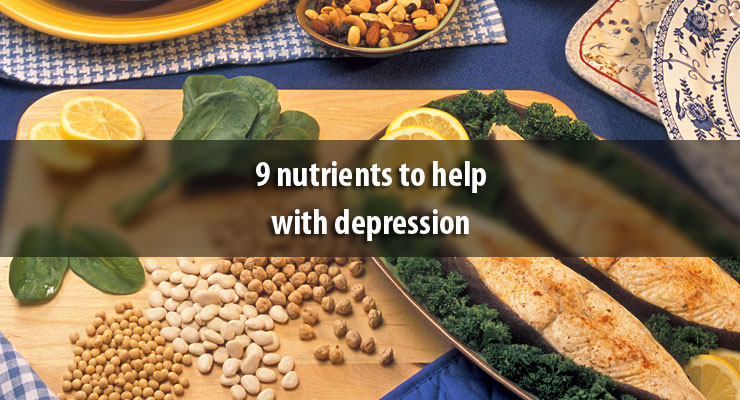 9 nutrients to help with depression