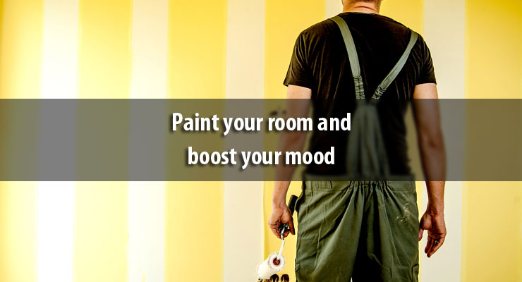 Paint your room and boost your mood
