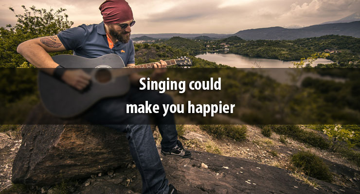 Singing could make you happier