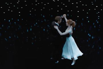 Emma Stone and Ryan Gosling, La La Land