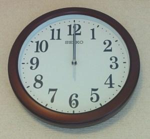 セイコークロック 電波掛時計 KX379B