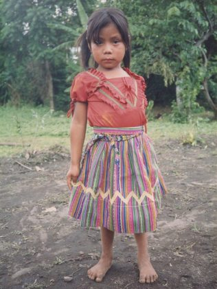 Claudia, a former sponsored child