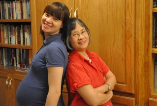 Shanxi and her mom