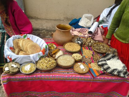 Food from the Japo K'asa community