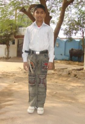CFCA sponsored child, Dushyant, in Agra, India.