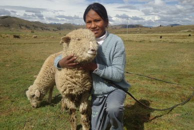 Sponsored child in Bolivia
