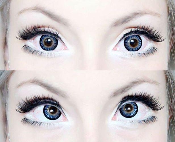 blue circle lenses bambi
