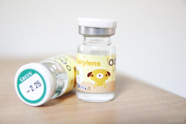 vials of contact lenses