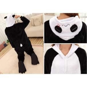 Panda Onesie from Back