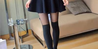 sheer black tights