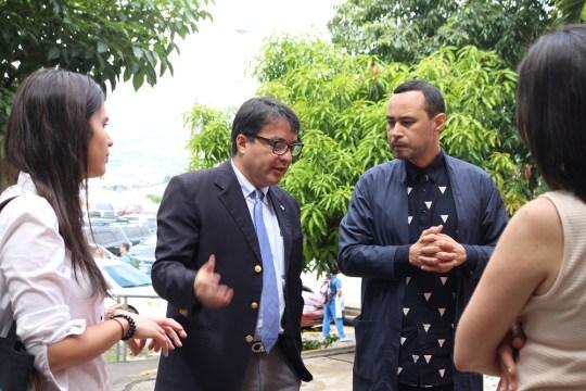 Carlos Campus visita Unitec Tegucigalpa
