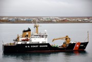 USCGC SPAR operating off the North Slope