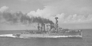 Sumatra at sea in English waters, May 1940
