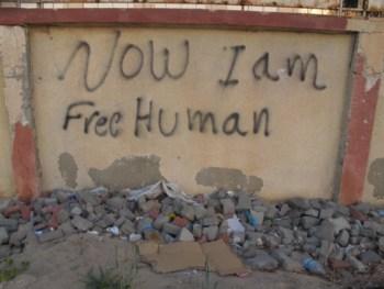 Free human