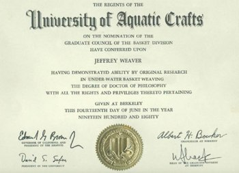 underwater-basket-weaving-degree
