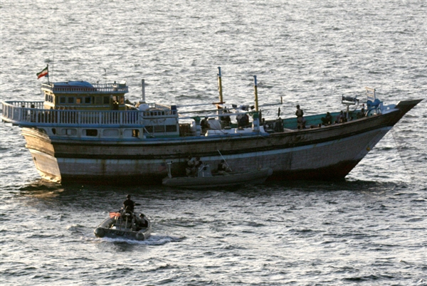 iranian fishing boat