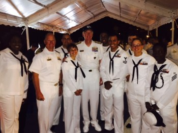 Sailors of USS DONALD COOK