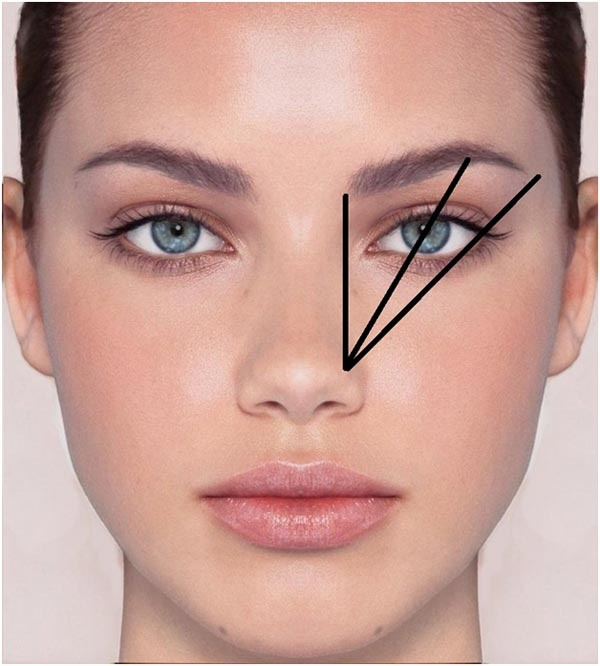 how to cut your eyebrows with scissors