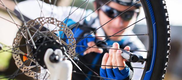 winter fiets onderhouden