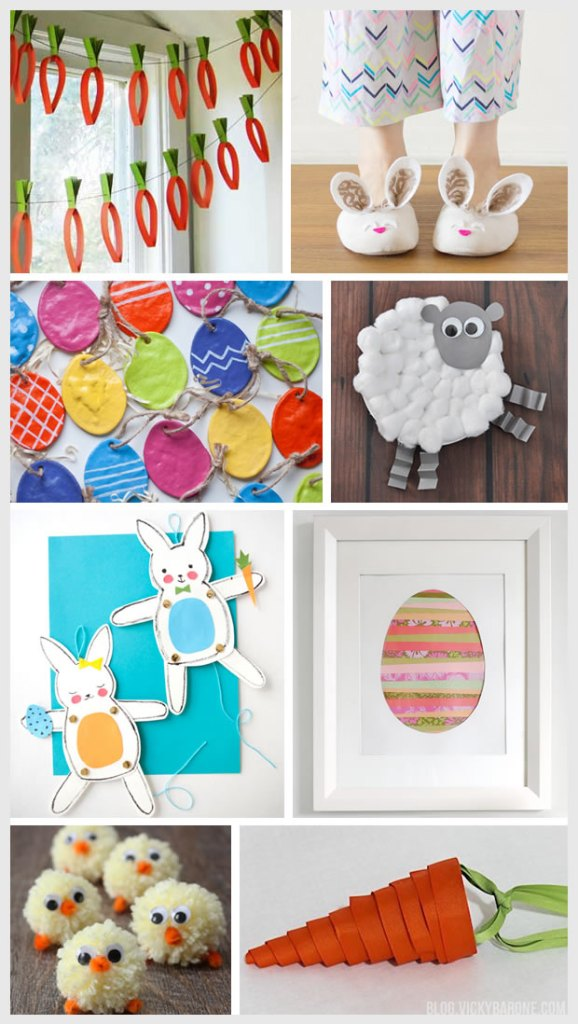 8 Easter Craft Ideas | Vicky Barone