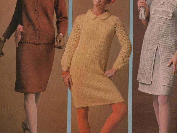 Tunic Dress Suit Sheath vintage pattern