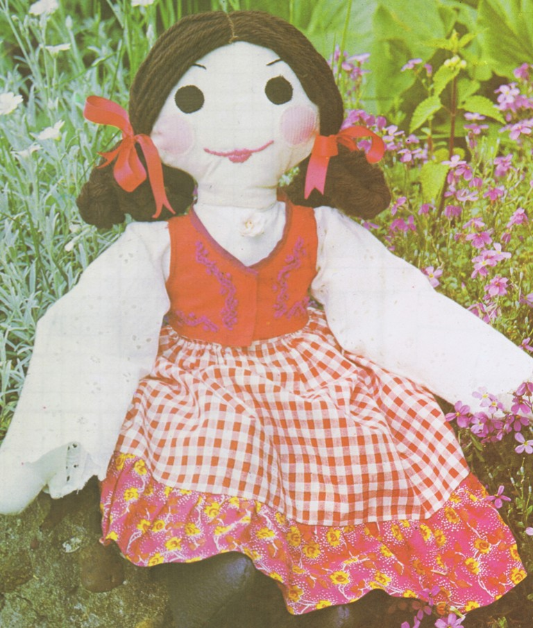 Free Vintage Doll and Toy Patterns to Make