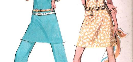 McCalls 2270 Pants Dress Sewing Pattern Bust 38