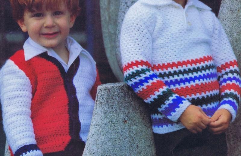 3 Crochet Toddler Sweater Patterns