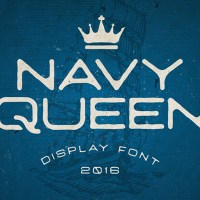 #NavyQueen FREE Font 2016