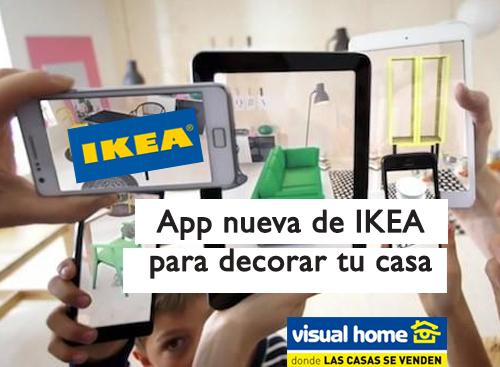 Ikea lanza su App para decorar tu casa de un modo muy real