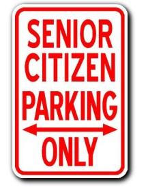 senior parking